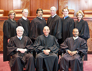 Members of the Texas Supreme Court